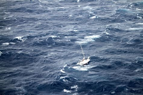 ark boat stuck on land sailboat snared by hurricane julio joined by coast guard