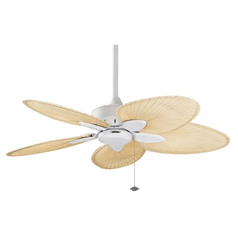 44 Inch Ceiling Fans by Fanimation Fp7500mw Windpointe Five Blade Series Collection 44 Inch Ceiling Fan Matte White Finish
