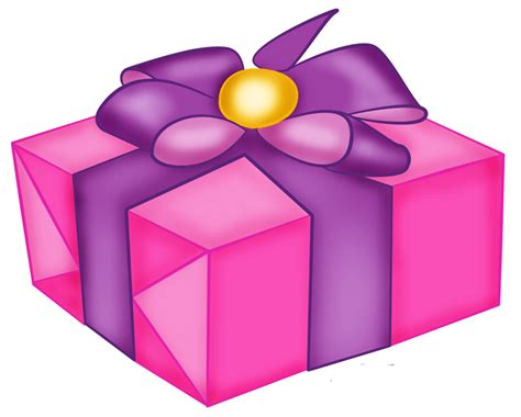 gift box with blue bow free clipart clip art library