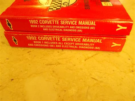 car engine repair manual 1992 chevrolet corvette electronic toll collection service manual 1992 chevrolet corvette engine factory repair manual chevy corvette 1992 1993