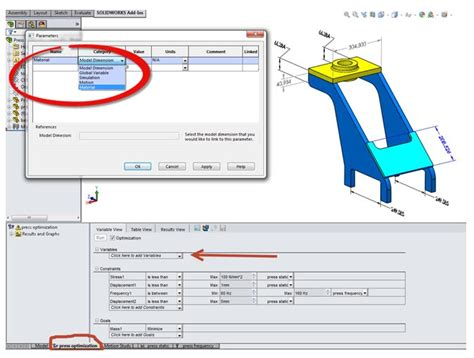 design parameters adalah solidworks simulation reseller solidworks indonesia