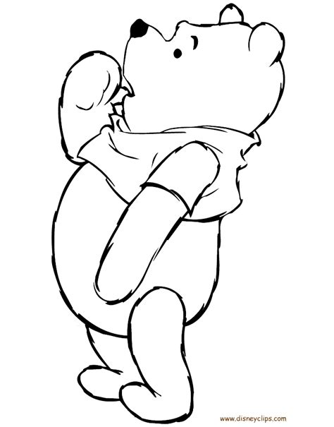 pooh bear coloring pages games winnie the pooh printable coloring pages 4 disney