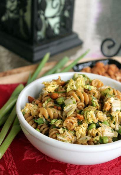 thai pasta salad thai peanut pasta salad tasty kitchen a happy recipe