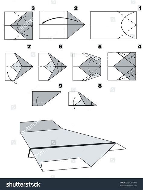 3d Paper Airplane Templates 3d paper plane templates gallery template design ideas