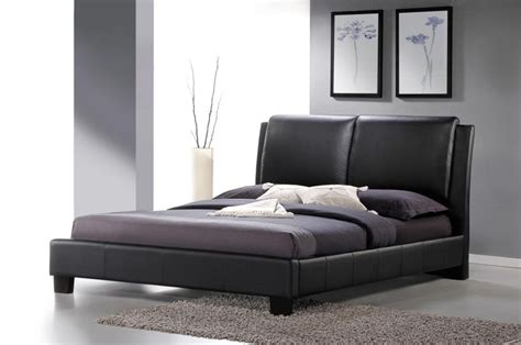 refined leather modern platform bed jacksonville florida