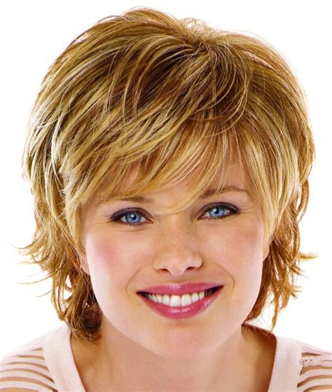 Haircuts For Round Face On Pinterest | short hairstyles for thin hair and round face def have
