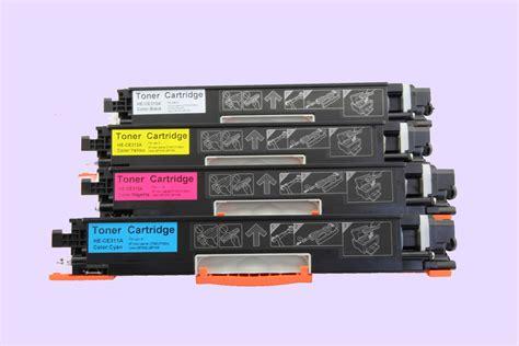 Toner Cp1025 4x hp cp1025 ce310a ce311a ce312a ce313 toner cartridge