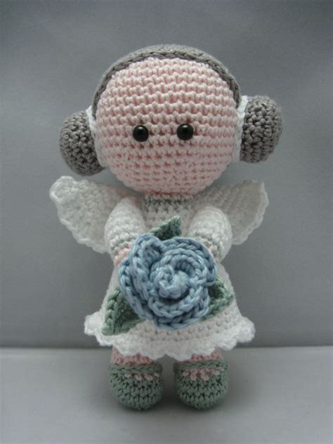 free pattern amigurumi angel flower angel instant download amigurumi doll crochet