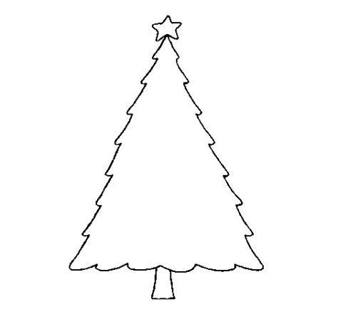 imagenes para pintar arbol navideño dibujo de 193 rbol con estrella para colorear dibujos net