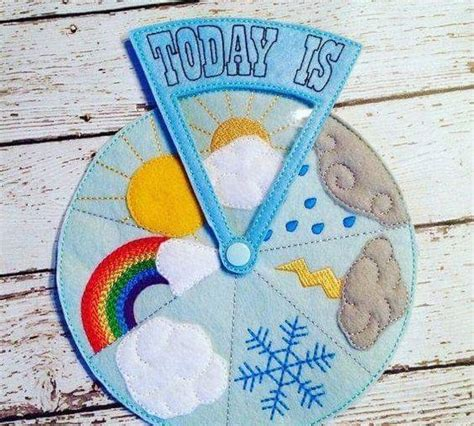 how is the weather today crafts and activities 1