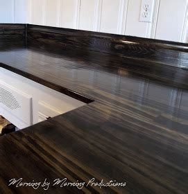 morning by morning productions diy kitchen countertops
