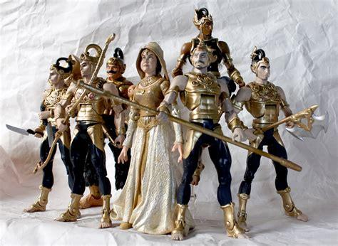 Pandawa Arjuna wayang pandawa lima figures harry martawijaya