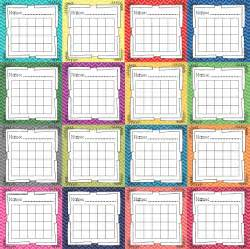 crystal s classroom incentive charts