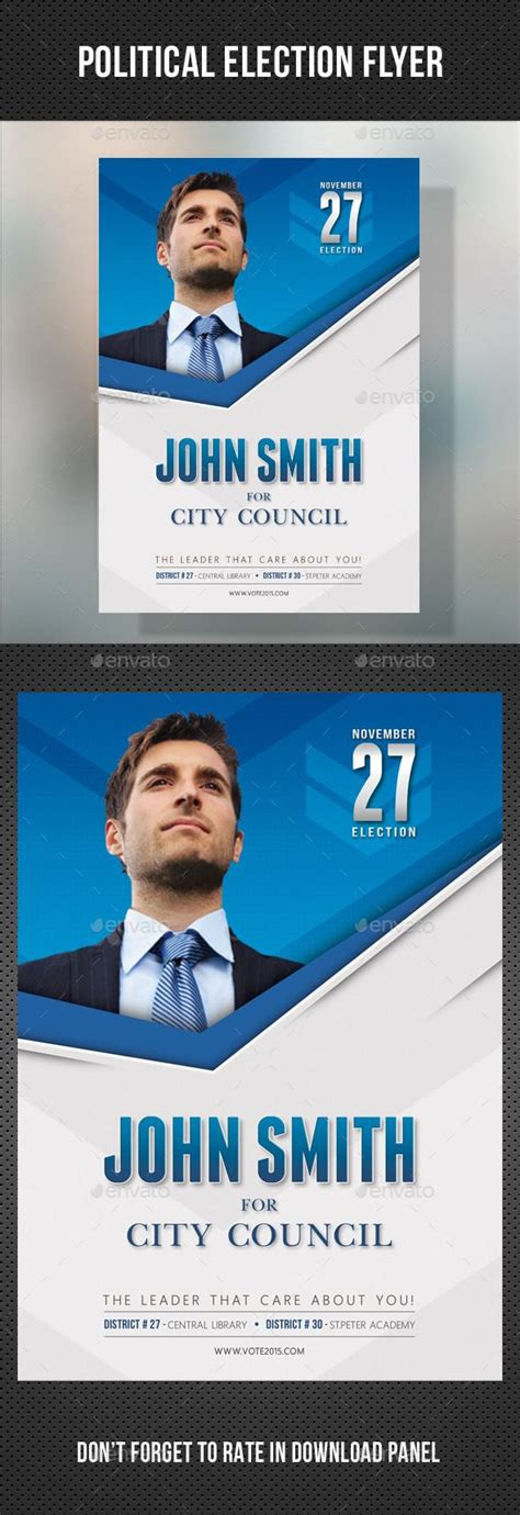 political election flyer template v2 rela 231 245 es p 250 blicas