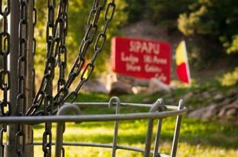 sipapu s world class disc golf course is considered one of