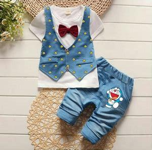 Baju Anak Pakaian Anak Rompi Setelan setelan baju lengan pendek rompi anak laki laki modern keren