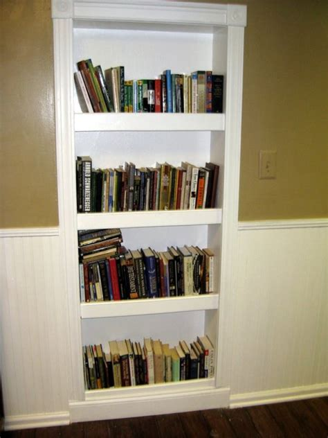 simple built in bookcase plans woodworker magazine