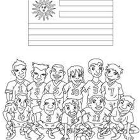 coloring pages for uruguay team of paraguay coloring pages hellokids