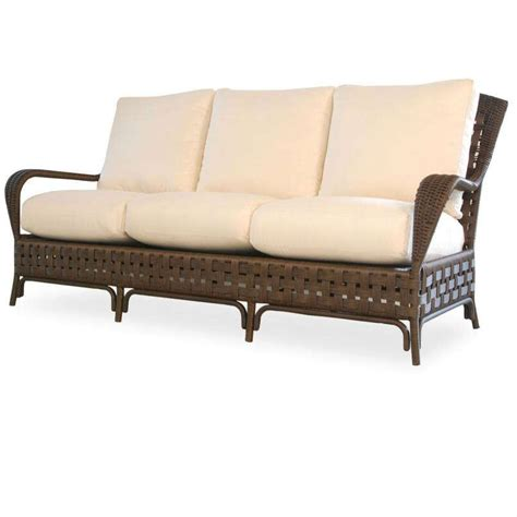 rattan sofa cushions replacements lloyd flanders haven wicker sofa replacement cushion