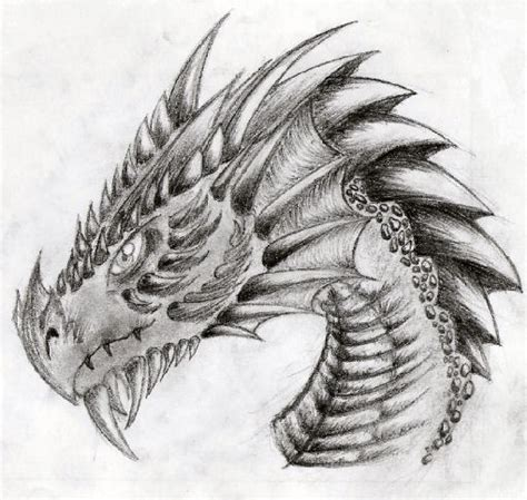dragon head by nike2000 on deviantart