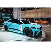 Jaguar Details I PACE Race Car Built By JLRs SVO Division