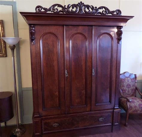 Antique Armoires Wardrobes - antique armoire wardrobe c1900 1920s rosewood