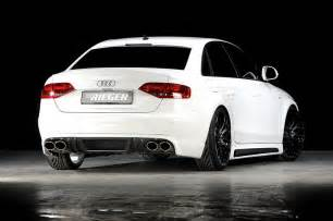 Audi As4 Rieger Tuning Audi A4 Car Tuning