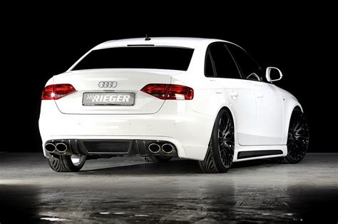 Audi A4 Tuning by Rieger Tuning Audi A4 Car Tuning