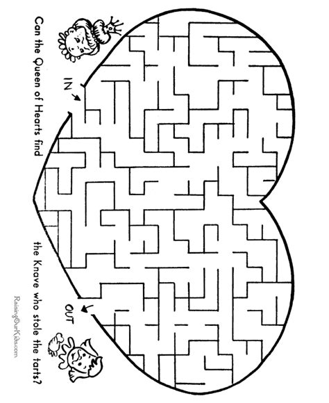 printable maze for preschoolers mazes printable activities for kids 003