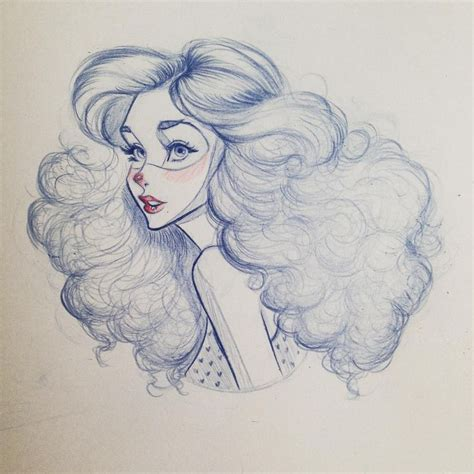 drawing curly hair 25 best ideas about curly hair drawing on pinterest