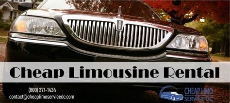 limousine rental service when a cheap limousine rental service is needed in the new
