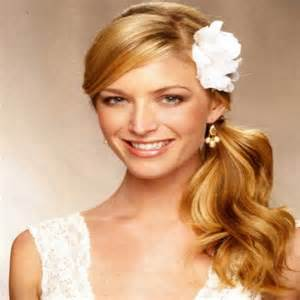 side hairstyles for bridesmaids ptcome