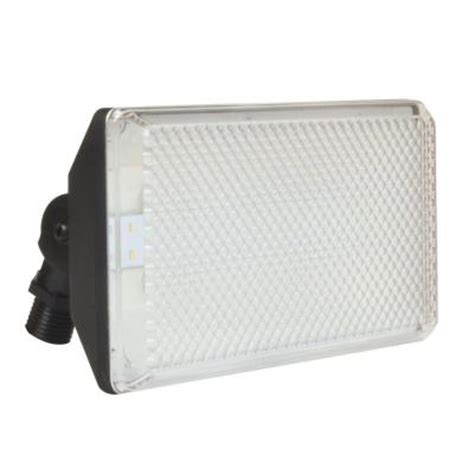 aspects outdoor black led standard area flood light