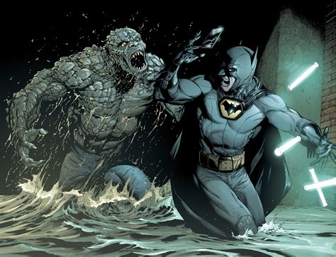 batman killer croc batman vs killer croc earth 1 comicnewbies