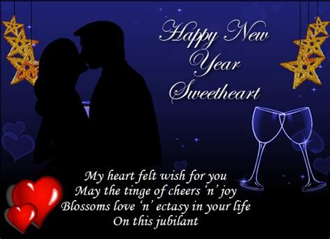 happy new year wishes and romantic new year messages for