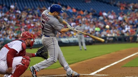 david wright swing mets hit eight hrs in blowout of phillies article tsn