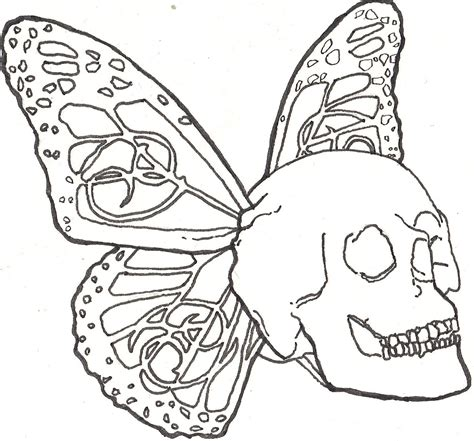 how to draw skull fairy archives pencil drawing collection