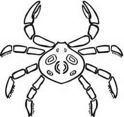 coloring pages for children free printable crab coloring pages for