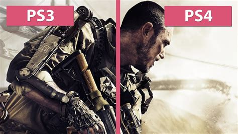 ps4 themes advanced warfare call of duty advanced warfare ps3 vs ps4 graphics