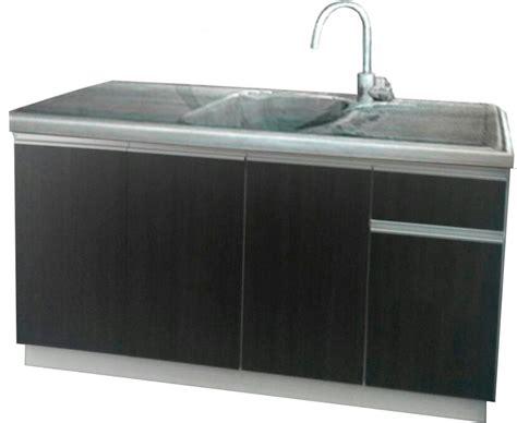 mueble bajo  perfil de aluminio mesada    en mercado libre