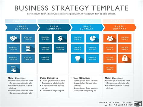 it strategic plan template powerpoint strategic business plan template ppt siriraj