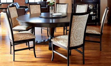 circular dining room table 15 best ideas of round design dining room tables sets