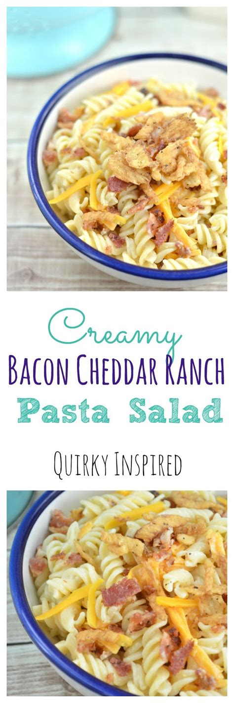 creamy ranch pasta salad family fresh meals 97369 best images about for the love of food on pinterest