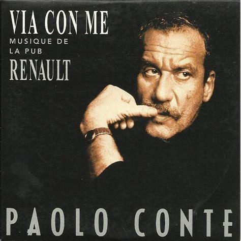 testo via con me paolo conte via con me single paolo conte mp3 buy tracklist