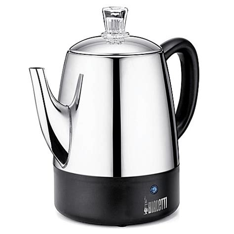 Bialetti Pour 4 Cups 1 buy bialetti 174 4 cup coffee percolator from bed bath beyond