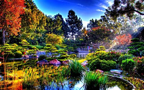 beautiful garden pictures japanese gardens wallpapers wallpaper cave
