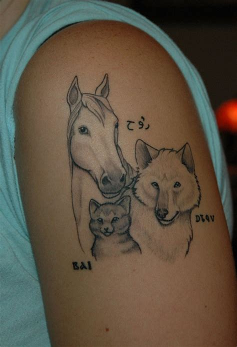 tattoo heartbeat horse 30 remarkable horse tattoos creativefan