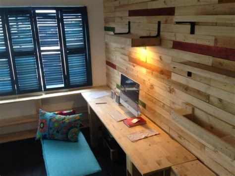pallets recycled furniture  wall decor pallet ideas