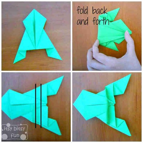 25 Best Ideas About Origami Frog On Easy - best 25 origami frog ideas on easy origami