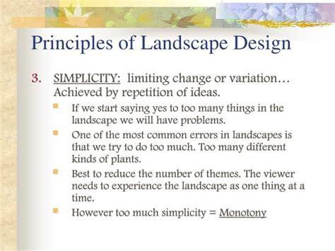 powerpoint design principles landscape design principles powerpoint home design ideas